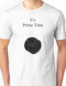 Prime Time Light Colored Unisex T-Shirt