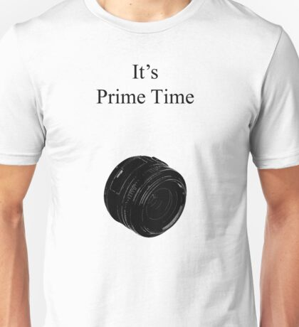 Prime Time Light Colored Unisex T-Shirt