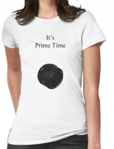 Prime Time Light Colored Womens Fitted T-Shirt