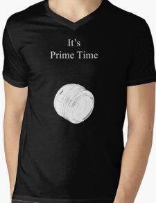 Prime Time Dark Colored Mens V-Neck T-Shirt