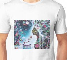Wandering Moon Spirit by Tanya Cole Unisex T-Shirt