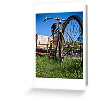 Bicycle Taxi Greeting Card