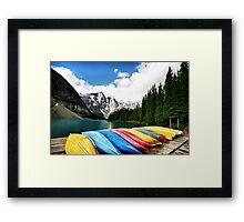 Moraine Lake, Banff Nat. Park Framed Print