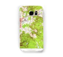 Massachusetts  USGS Historical Topo Map MA Pittsfield East 350458 1944 24000 Samsung Galaxy Case/Skin