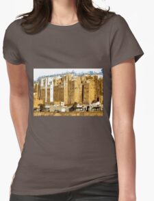 """""""The Oldest Skyscraper City in the World"""" , Shibam, Yemen Womens Fitted T-Shirt"""