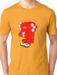 Gossamer reading  full color geek funny nerd Unisex T-Shirt