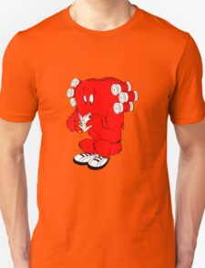 Gossamer reading  full color geek funny nerd Unisex T-Shirt