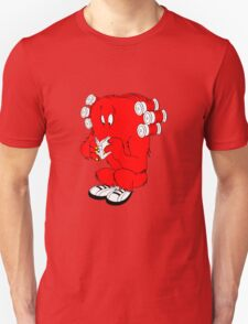 Gossamer reading  full color geek funny nerd T-Shirt