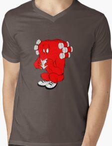 Gossamer reading  full color geek funny nerd Mens V-Neck T-Shirt