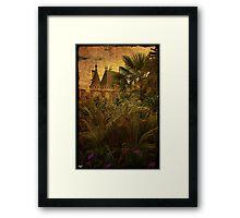 Jungle Chateau Framed Print