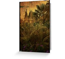 Jungle Chateau Greeting Card