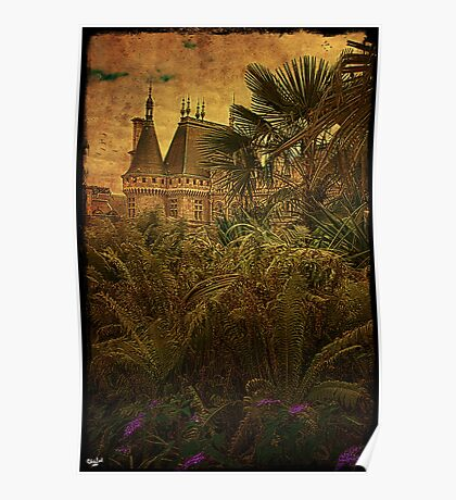 Jungle Chateau Poster