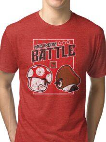 Mushroom Battle Tri-blend T-Shirt
