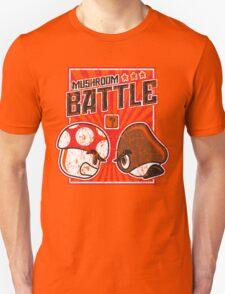 Mushroom Battle Unisex T-Shirt