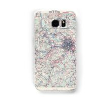 Massachusetts  USGS Historical Topo Map MA Lowell 352812 1918 62500 Samsung Galaxy Case/Skin