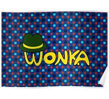 Wonka Liquorice Poster