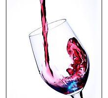 Wine Glass by Victor Sinden