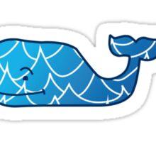 vineyard vines whale Sticker