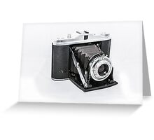 AGFA Isolette I  Greeting Card