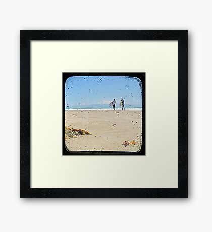 Monday Morning Surf - TTV Framed Print