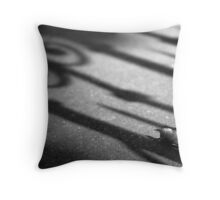 Leaf Shadow Paris Throw Pillow
