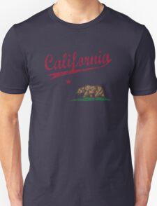 California State Flag Sporty Unisex T-Shirt