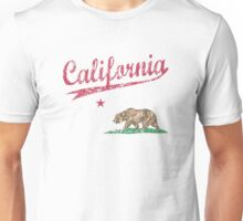 California State Flag Sporty Unisex T-Shirt