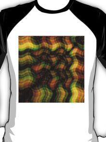 Waved Plaid T-Shirt