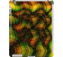 Waved Plaid iPad Case/Skin