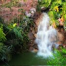 Little Waterfall by Maria  Gonzalez