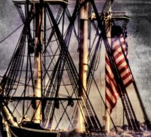 World's oldest commissioned warship afloat - USS CONSTITUTION Sticker