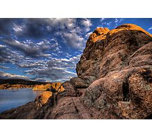 Off Rock Photographic Print