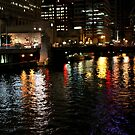 Chicago River by Paula Bielnicka