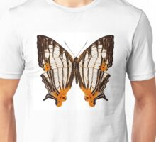 Butterfly species Cyrestis lutea martini Unisex T-Shirt