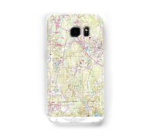 Massachusetts  USGS Historical Topo Map MA Franklin 350147 1964 24000 Samsung Galaxy Case/Skin