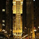 Chicago Board of Trade by Paula Bielnicka
