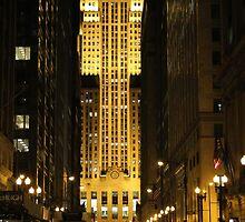 Chicago Board of Trade by Paula Bielnicka