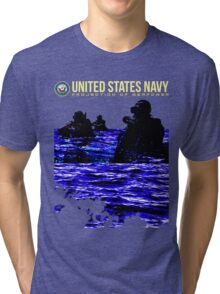 Projection of Seapower Tri-blend T-Shirt