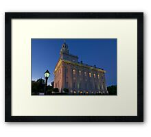 The Nauvoo Temple Framed Print