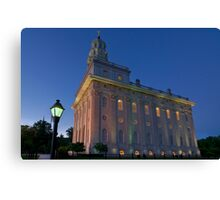 The Nauvoo Temple Canvas Print