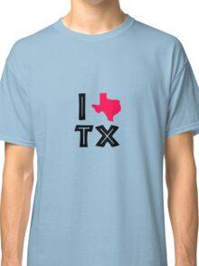 I love texas geek funny nerd Classic T-Shirt