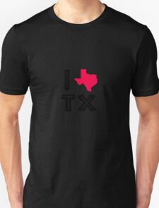 I love texas geek funny nerd T-Shirt