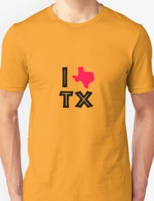 I love texas geek funny nerd T-Shirt