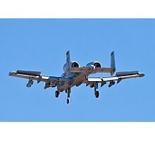 Backend of the A-10 Thunderbolt Photographic Print