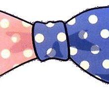 vineyard vines polka dot bow tie by Emily Grimaldi