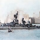 DDR 838 USS Ernest G Small, &quot;Liberty Call 1965 Hong Kong by David M Scott