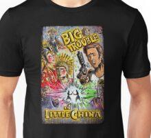 Big Trouble in Little China art jack burton john carpenter sci fi horror chinese japanese kung fu martial arts kurt russel storms girl Unisex T-Shirt