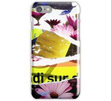 Fleur du métro iPhone Case/Skin