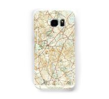 Massachusetts  USGS Historical Topo Map MA Wrentham 352415 1946 31680 Samsung Galaxy Case/Skin