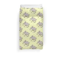 Pretty Bilby with Flowers Duvet Cover